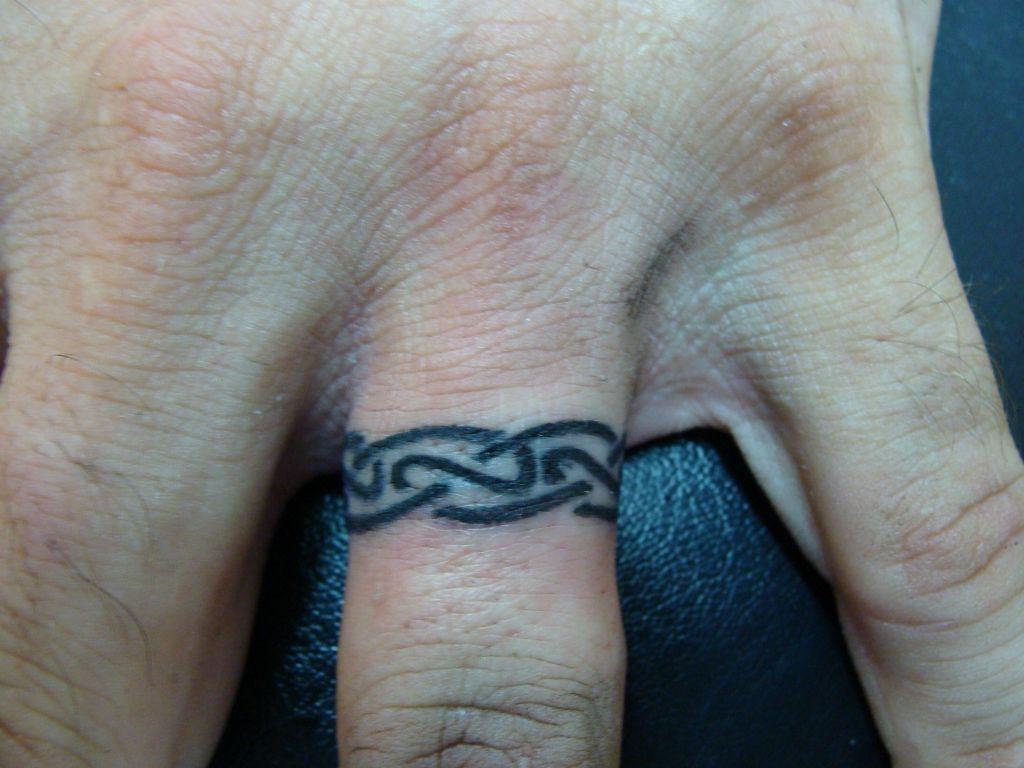 Fish Hook Wedding Ring Tattoo - Image Wedding Ring Imagemag.co
